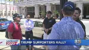 Police Outnumber Trump Supporters At San Jose Rally [Video]