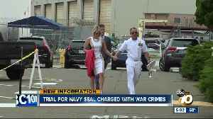 Trial starts for Navy SEAL charged with war crimes [Video]