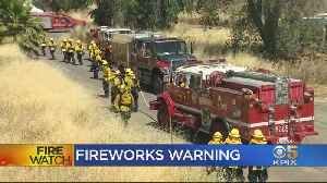 East Bay Firefighters Demonstrate Dangers Of Illegal Fireworks [Video]