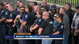 Officers in Milwaukee, Racine mourn losses together [Video]
