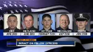 5 Wisconsin police officers have been killed in just over a year [Video]