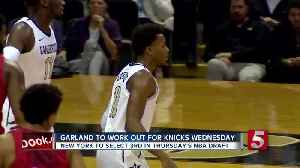 Garland to work out for Knicks [Video]