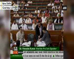 Sunny Deol takes oath on 2nd day as Lok Sabha MP [Video]