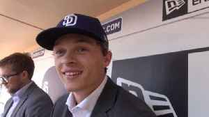 Padres third-round draft pick Hudson Head introduced at Petco Park [Video]