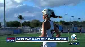 Caitlyn Wurzburger to compete at World Lacrosse 19U Championships 6/18 [Video]
