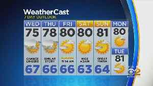 New York Weather: CBS2 6/18 Nightly Forecast at 11PM [Video]