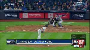 Cameron Maybin's 7th inning home run helps New York Yankees beat Tampa Bay Rays [Video]