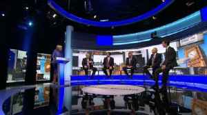 Plans scrutinised at a chaotic Tory leaders debate [Video]