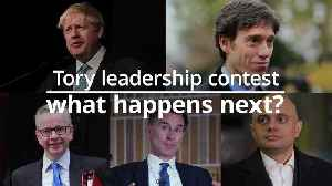Tory leadership contest: What happens next? [Video]
