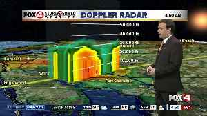 Forecast: Isolated AM rain along the coast and PM inland storms [Video]
