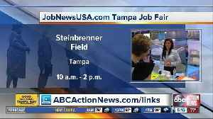 Tampa job fair on Wednesday looks to fill hundreds of openings [Video]