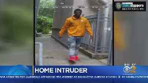 Family Finds Intruder In Bathroom [Video]