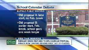 Buffalo Public School officials debating school calendar [Video]