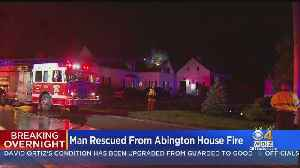 Man Saved From Abington House Fire By Neighbor, Police Officer [Video]
