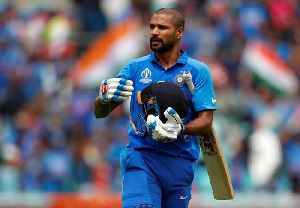 Injured Shikhar Dhawan ruled out of World Cup, Rishabh Pant replaces him [Video]