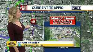 Deadly crash shuts down SB US 301 in Riverview [Video]