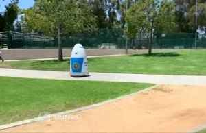 California police department unveil crime-fighting police robot [Video]