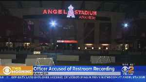 Off-Duty LAPD Officer Suspected Of Taking Video In Angels Stadium Men's Bathroom [Video]