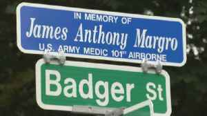 Web Extra: Clarkstown Street Renamed For U.S. Army Medic Killed In Vietnam [Video]