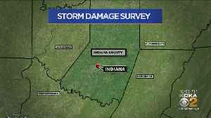 Indiana County Storm Damage Surveyed For Possible Tornado [Video]