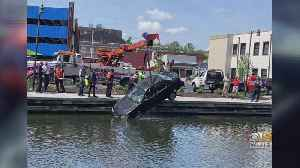 Driver Suffers Minor Injuries After Backing Into Wicomico River [Video]