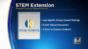 News video: STEM School Highlands Ranch Contract Discussed