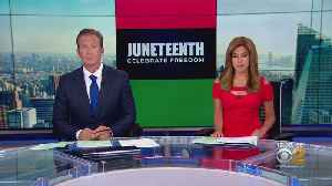 Americans Celebrate Juneteenth Day Marking News On End Of Slavery [Video]