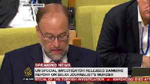 Saudi slams UN report on Khashoggi killing as 'unfounded'
