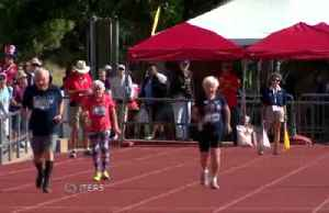 Age no barrier for 103-year-old track star [Video]