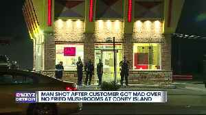 Man shot multiple times overnight at coney island in Detroit over fried mushrooms [Video]