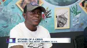 Refugee shares story of journey from the Congo [Video]