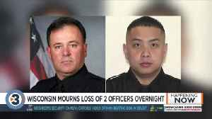 'It can happen to anyone over the course of their career': Community mourns deaths of 2 officers [Video]