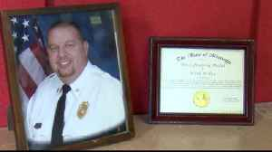 State presents local volunteer firefighter with lifesaving award [Video]