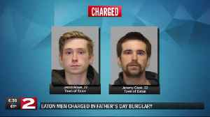 Two charged in alleged Madison County burglary [Video]