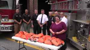 VIDEO Pet oxygen kits donated to Easton Fire Department [Video]