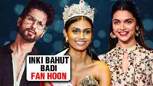 Miss India 2019 Suman Rao REVEALS Her Favourite Actor | Deepika, Salman, Shahid, Priyanka [Video]