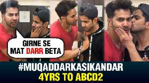 Varun Dhawan Highly DRAMATIC Video On Muqaddar Ka Sikandar | 4 Years Of ABCD 2 [Video]