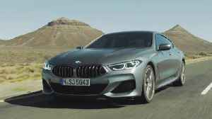 The new BMW 8 Series Gran Coupe Driving Video [Video]