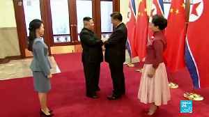 North Korea: Chinese president Xi Jinping makes historic visit to Pyongyang [Video]