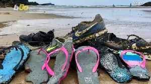 Hundreds of Nike Shoes Wash Ashore Across the World: Is Cargo Ship Spill to Blame? [Video]