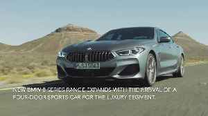 The new BMW 8 Series Gran Coupe Highlights [Video]