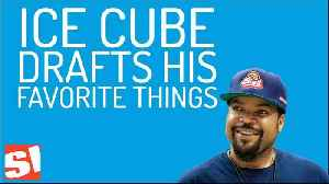 Ice Cube Drafts His All-Time Favorite Things [Video]