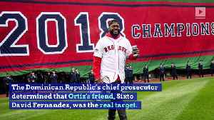 David Ortiz Was Not the Intended Target in Shooting [Video]