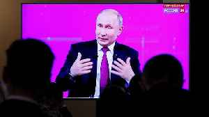 Putin's Q&A discusses living standards, MH17 and a dialogue with Trump [Video]