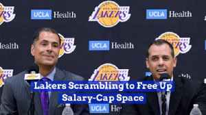 The Lakers Need Some Room In Their Salary Cap [Video]