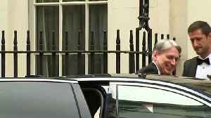 Hammond departs Downing St for Mansion House dinner [Video]