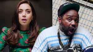 Aubrey Plaza and Brian Tyree Henry Take a Lie Detector Test [Video]