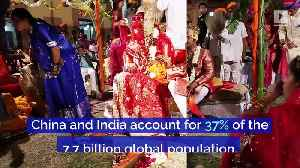 India Will Overtake China as Most Populous Country [Video]