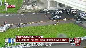 Deadly wrong-way crash closes I-75 northbound in Hillsborough County [Video]