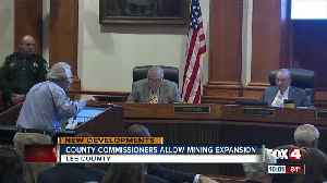 Lee County approves mining expansion [Video]